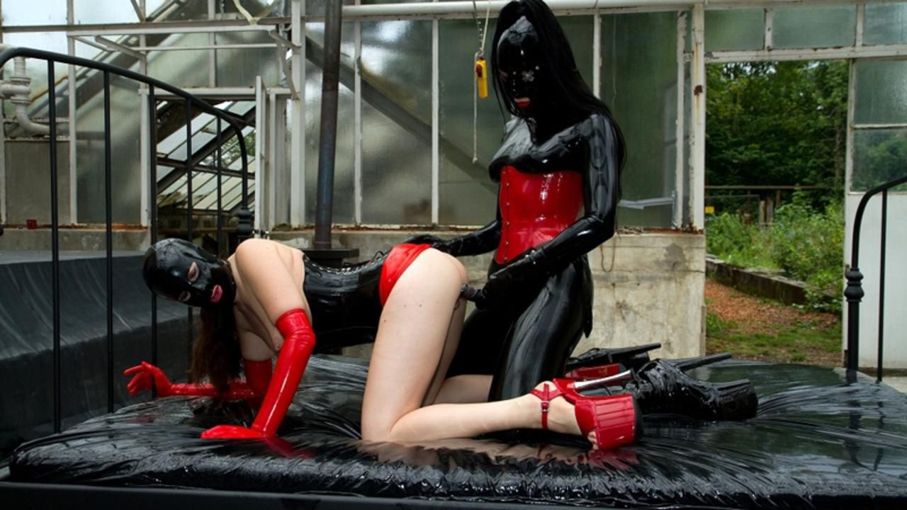 Rubber Goddess and her naughty little Chit Part 2