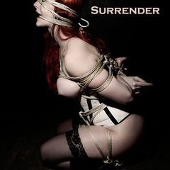 surrender #ropemarks #necia #navine #katzen #vonsterling #von #sterling #korsakoff #japanese #rope #bondage #nawa #shibari #kinbaku #red #head #sexy #kneeling #nude #gag ..