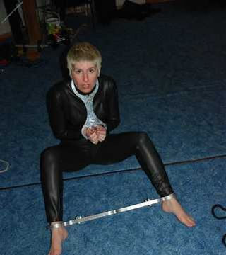 Nicky in Bondage