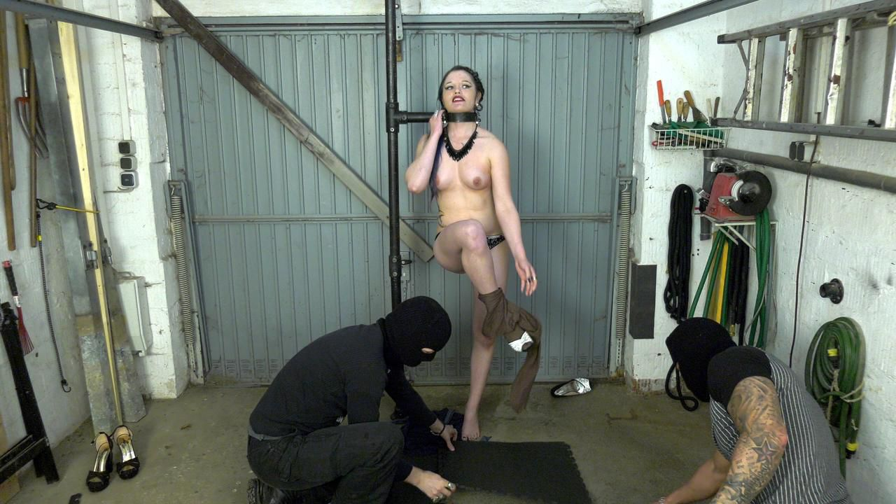 Stripping and fucking