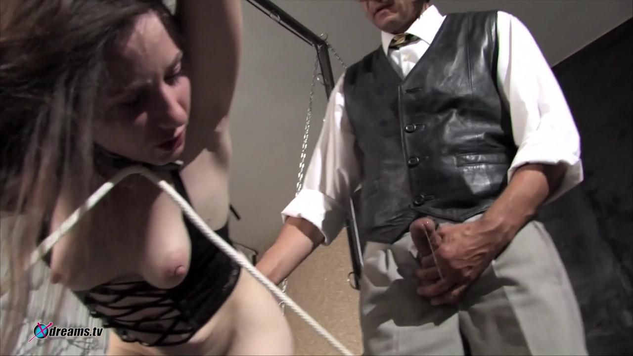 Old Master Uses Slave Yasemin As He Want
