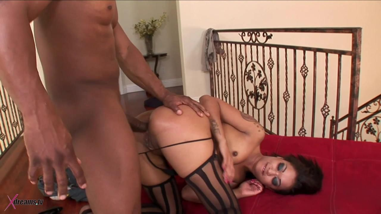 Black On Black - Skin Diamond The Epic Booty Get Her Asshole Drilled