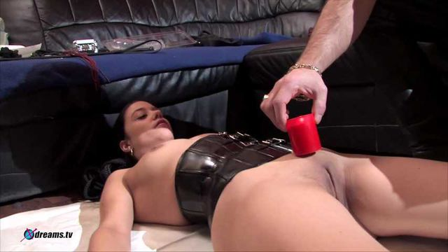 Nadja's Candles Games To Drip Wax All Over Her Body