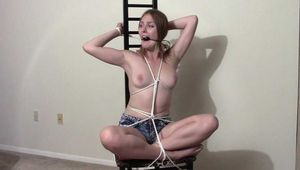 Tied and Gagged 4 - Vika