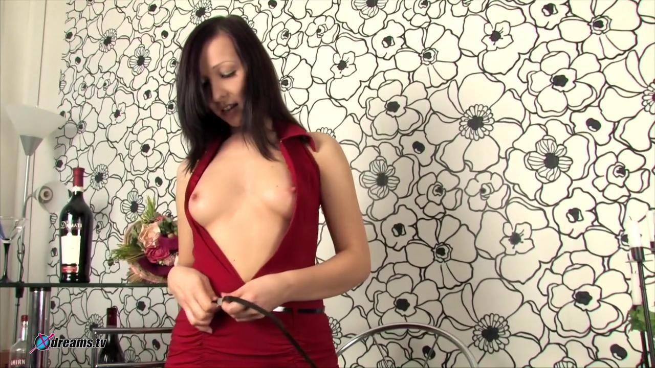 Olga Masturbates With A Dildo