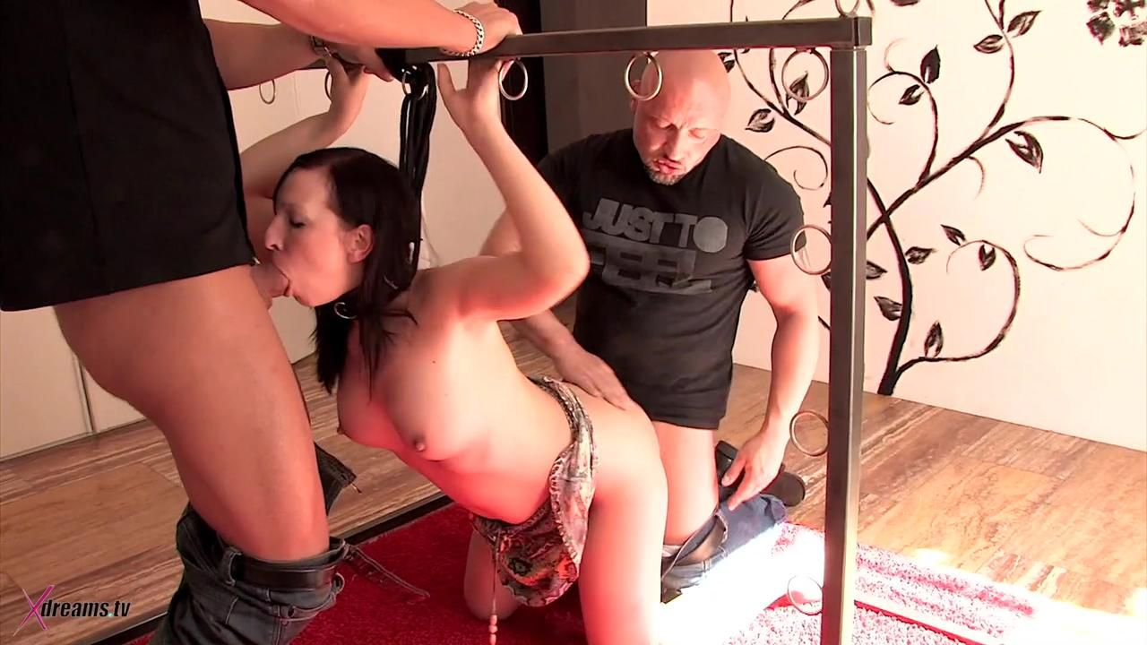 Olga's Threesome Bondage Sex Game