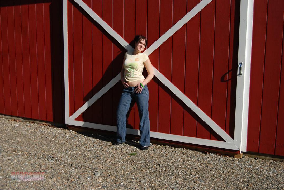 Outside Of The Barn