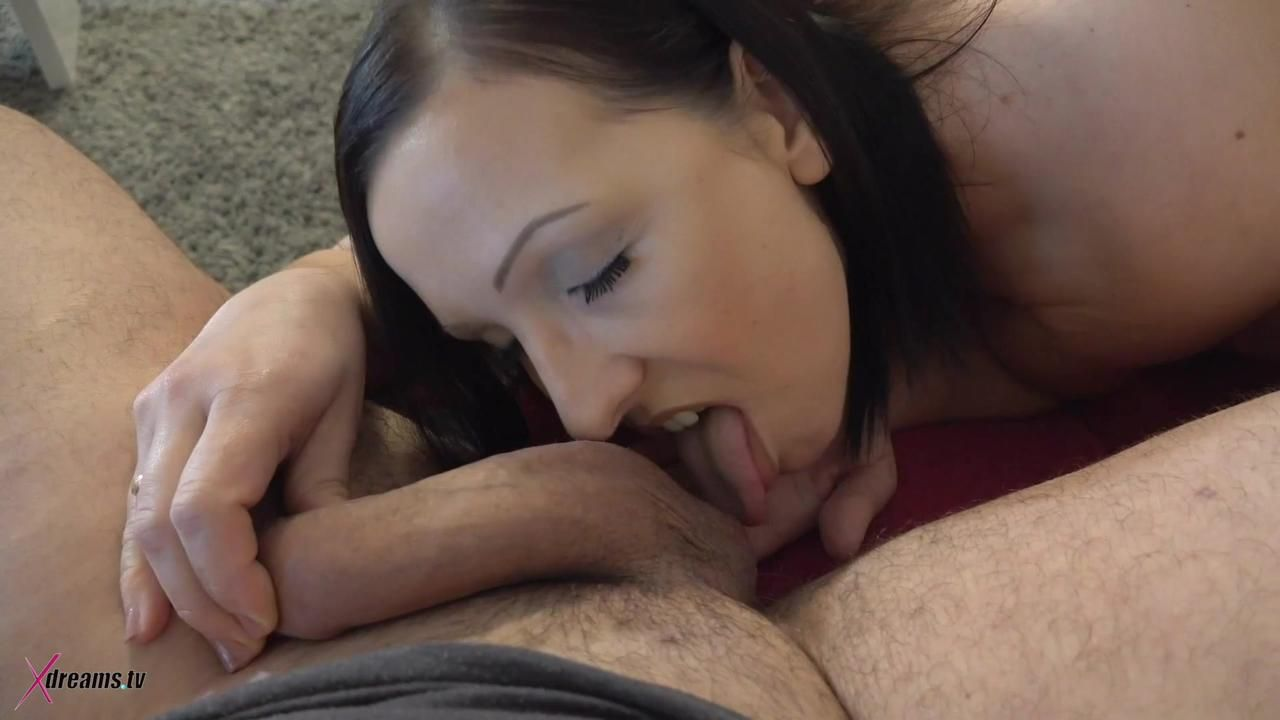 Ashley Dark - Blow- & Handjob For Hubby On My Davenport