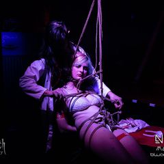 Posted the full set of this awesome CNC Medfet #Shibari performance from Neo 2019 with @KristenJadeAus on my new Patreon page, dedicated to my erotic / BDSM art photography. <br /><br />Pls support!<br /><br />http://Patreon.com/LillithsWeb