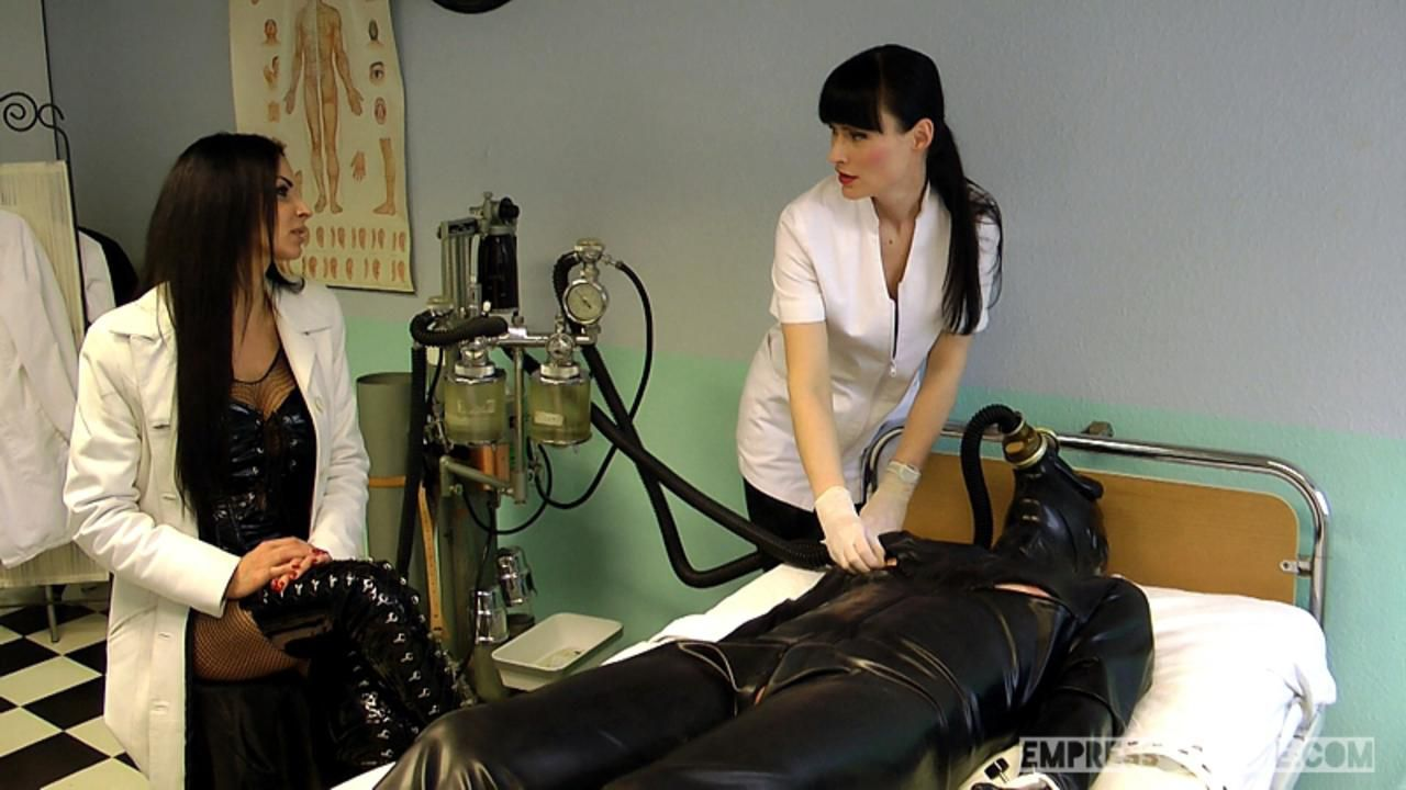 Mistress Zita & Cheyenne de Muriel - A nasty Therapy Part2
