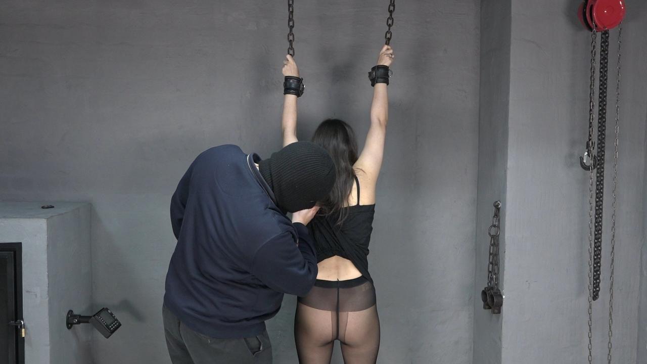 Aijana gets whipped
