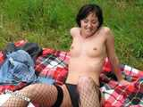 Lisa and her Cuckold Outdoor - Photoset