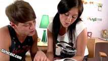 Hot Teen Emilia 1st Time Anal - Fucking Instead Of Cramming