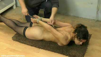 Tight Hogtie In The Punishment Room