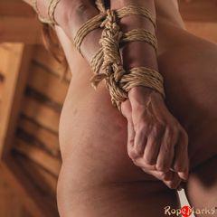 Bamboo Spread, part 1/3 #ropemarks #nawashi #kinbakushi #spring #submissive #slavegirl #tall #fetlight #fl #japanese #rope #bondage #shibari #kinbaku #strappado #bamboo #suspension #torment #semenawa #play #real #sexy #art