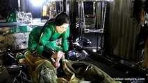 Lady Ashley - Maschinel Abgemolken und wieder Abgeschlossen