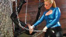 Contessa Cara - My caged strap on slut
