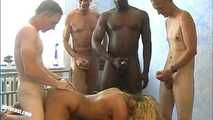 Cora's private gangbang incl. BBC - Part 2