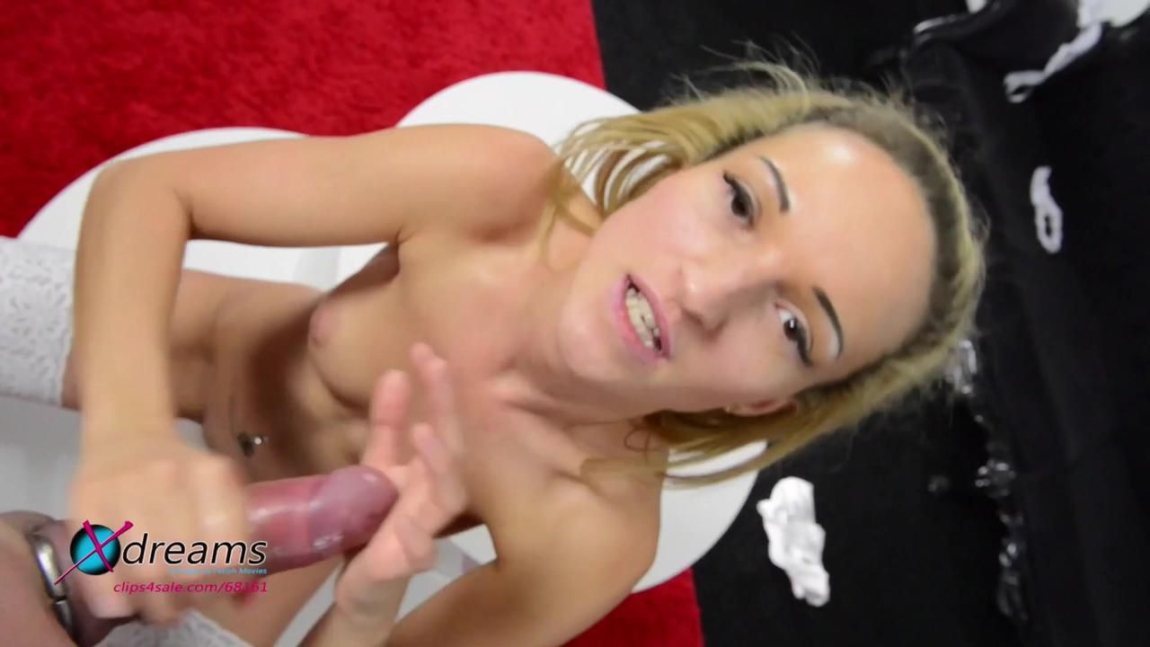 Cum On Skinny Girl Tits