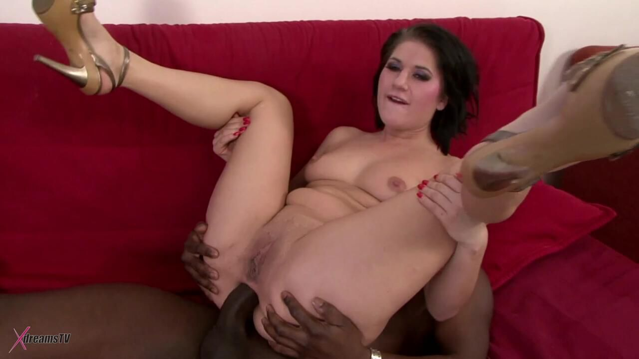 Black & White - Lucy Bell - My First Double Anal