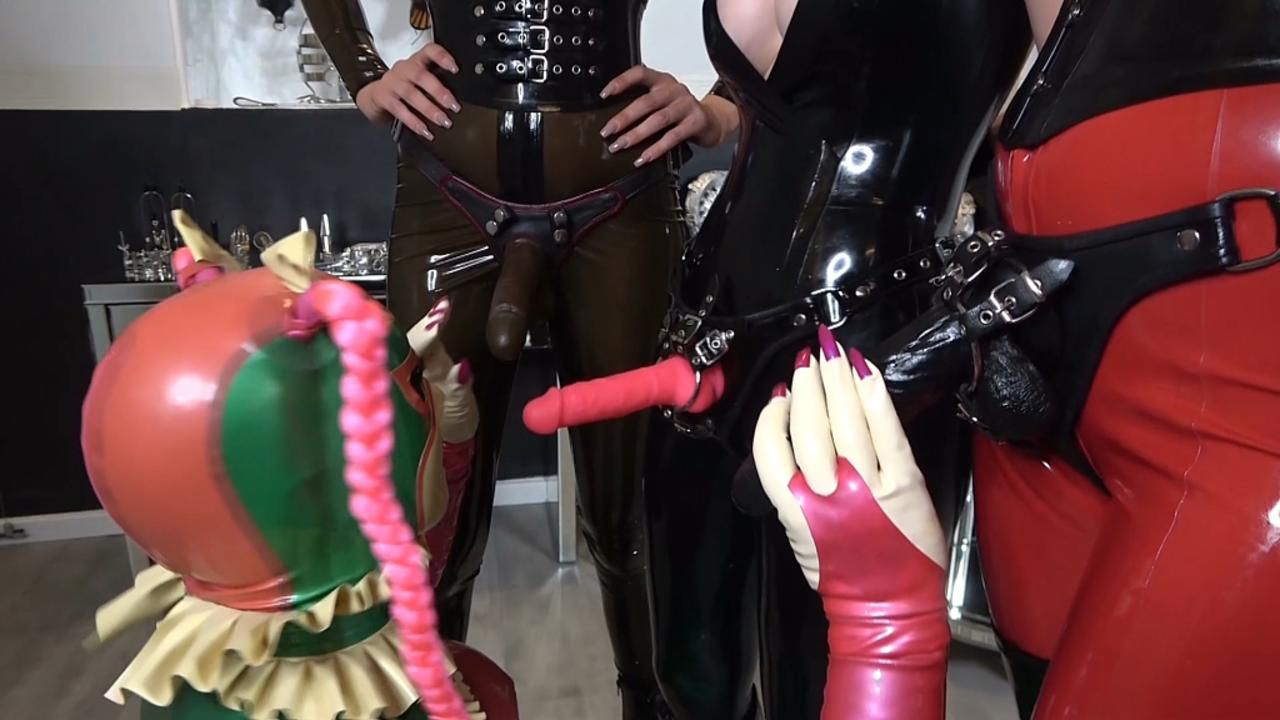 Rubber Object is a GangBang Slut Part1