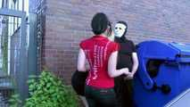 Outdoor Fuck with Masked Man