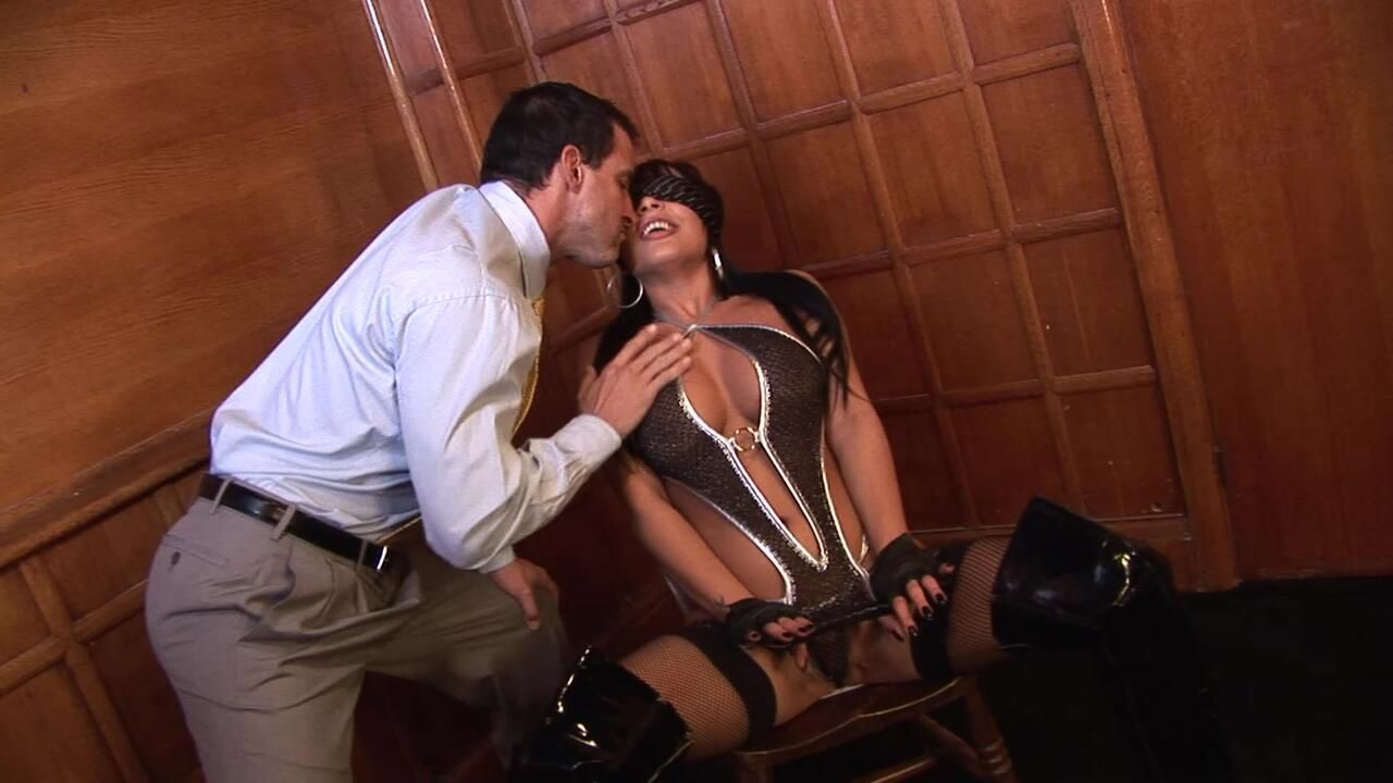 Romana Blindfolded And Fucked Like A Whore On The Floor