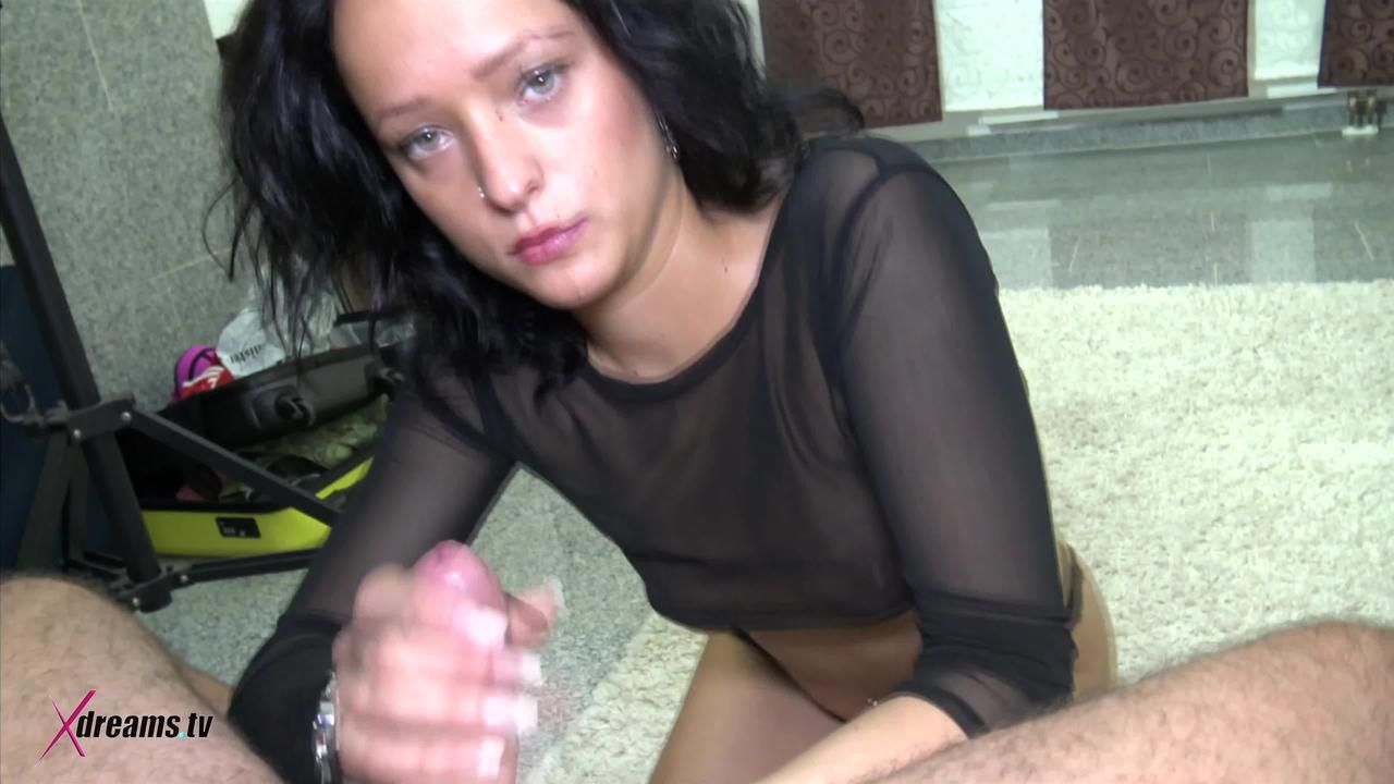 Shayla The Bitch Wanked Out The Cum From My Nuts