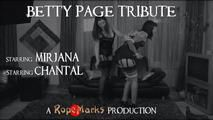 Betty Page Tribute