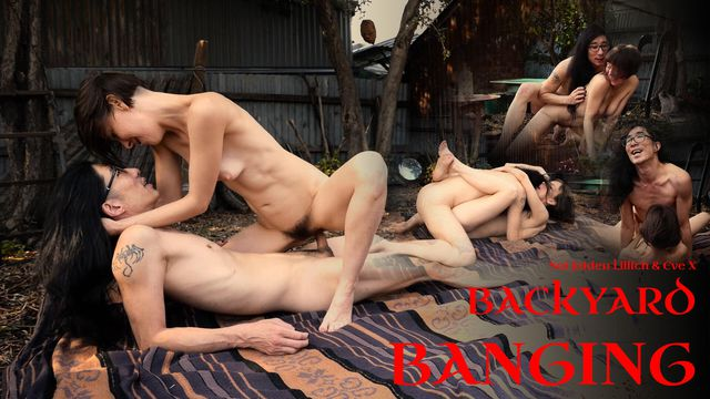 Backyard Banging w/ Eve X