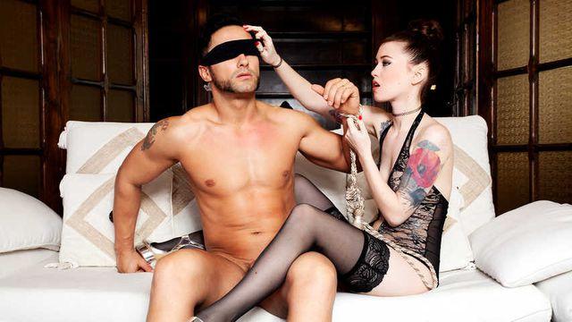 PVD S01E05 - Sexy Misha Cross seduces Mugur in a blindfolded adventure
