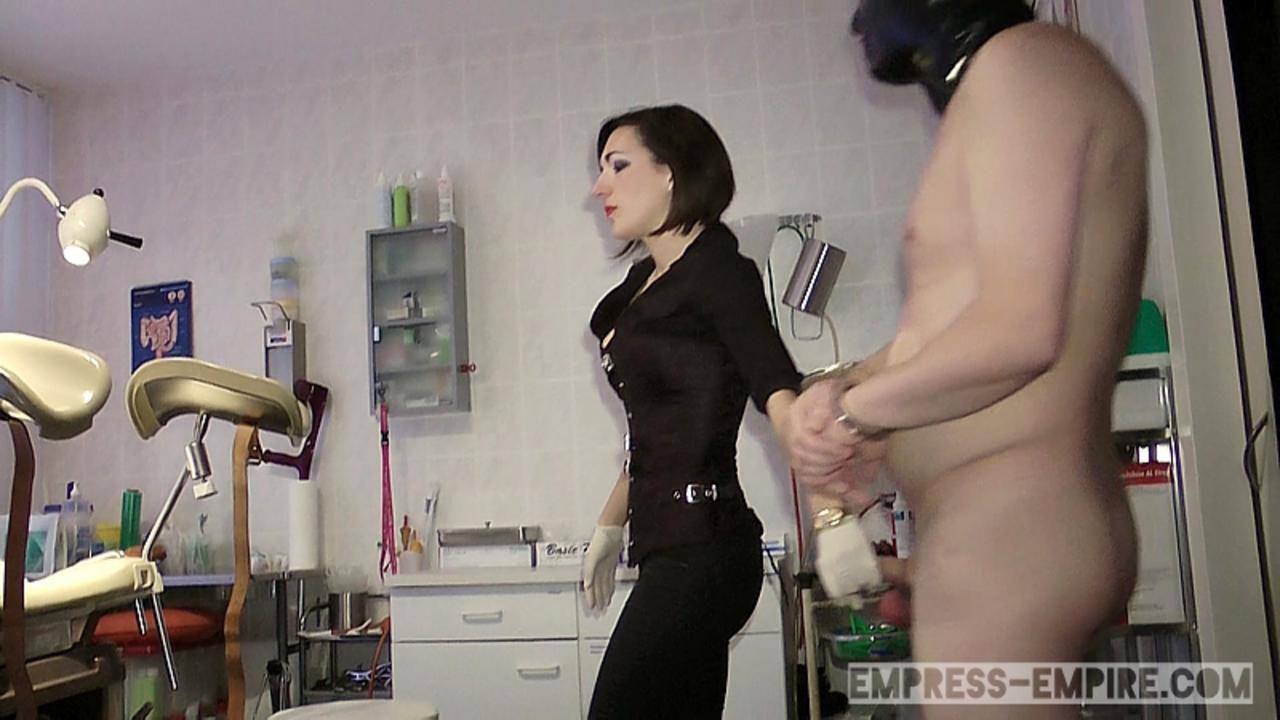 Baroness Mercedes - Saline Injection