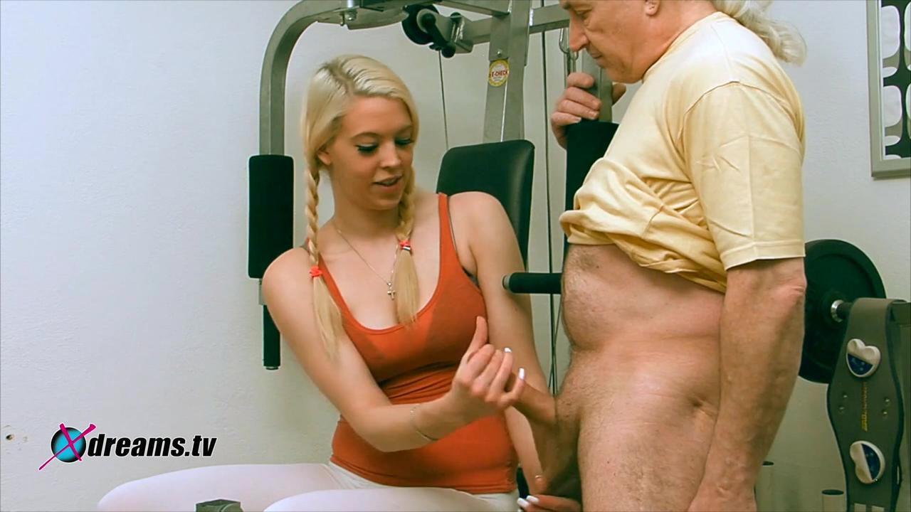 Penny's Gym Power Handjob