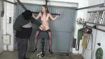 Karina on the sybian