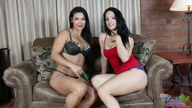 Tia and Sister Viv Talk You into a Jerk-Off Zombie
