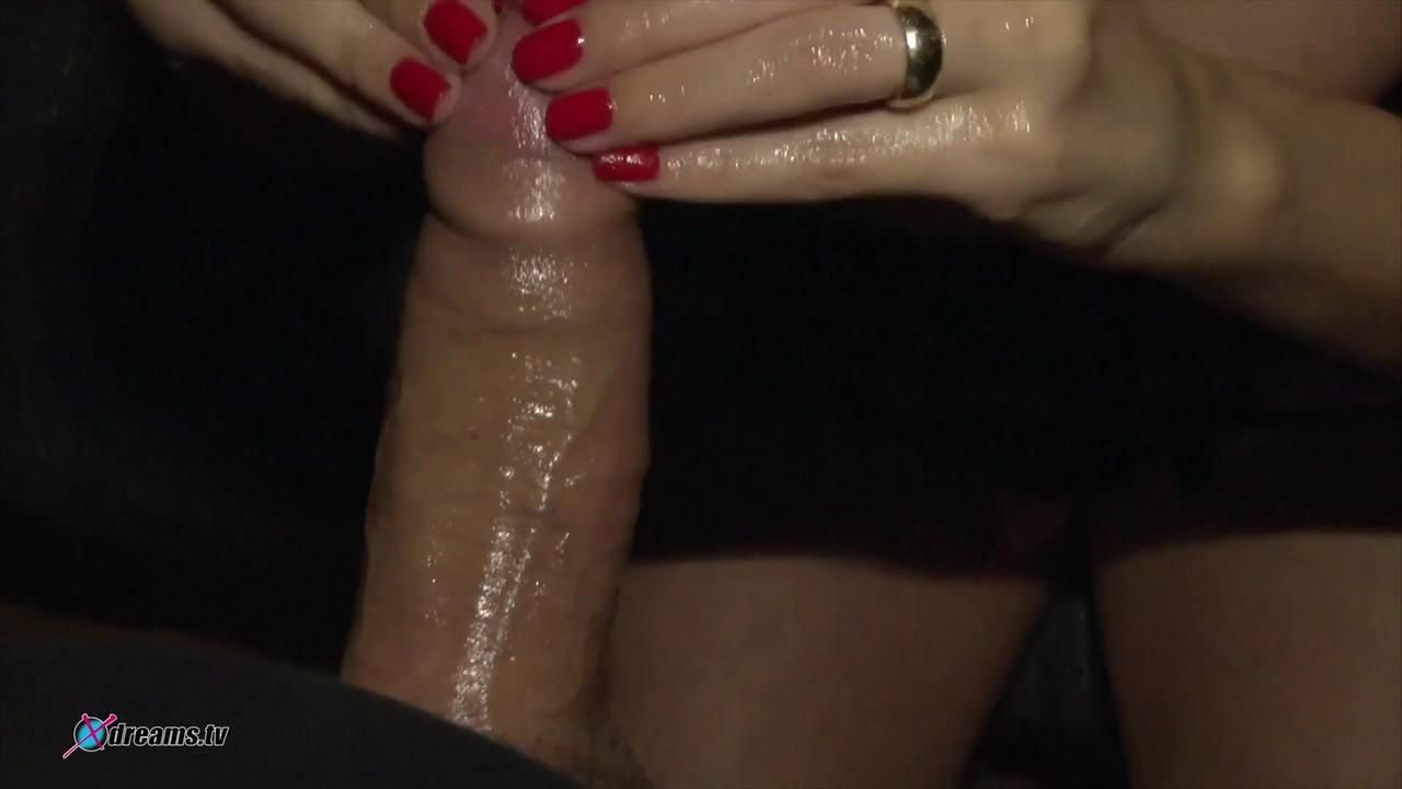 Jasmine Rouge - POV Hand- And Blowjob Action