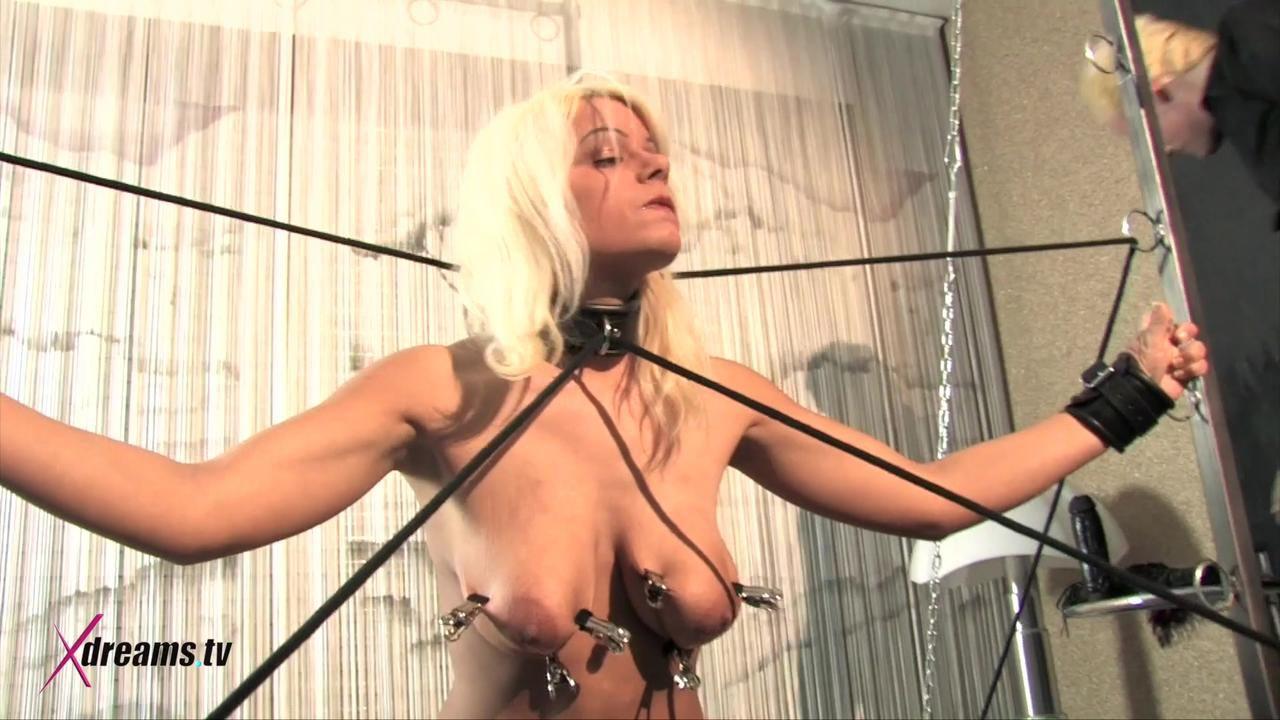 Martina's Day Of Humiliation At Bondage Frame