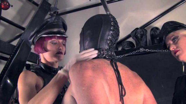 Mistress Tokyo & Sindy Skin - Double Domme strap on!