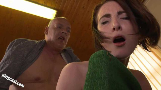 Teen Lia has her first anal sex