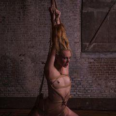 The initiation of Ariel Anderssen #RopeMarks #Ariel #Anderssen #CarmineWorx #Japanese #Rope #Bondage #Shibari #Kinbaku #Blond #Nude #Sexy #Semenawa #hair #kami #Art