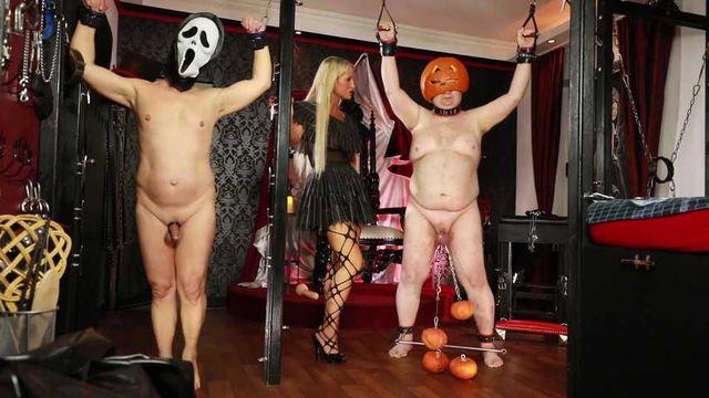 Halloween 2020: Dick und Doof im Gruselkabinett