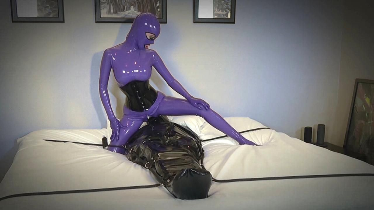 Sexual use of stored Rubber Toy