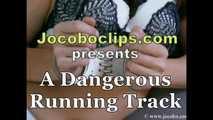 A Dangerous Running Track