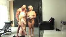 Blonde Girl Photoshoot Ends In Threesome