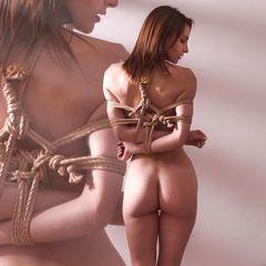 Mary, Mary, quite contrary... #RopeMarks #Mary #Gram #ME #Chiel #Japanese #rope #Bondage #Shibari #Kinbaku #nude #brunette #sexy #art
