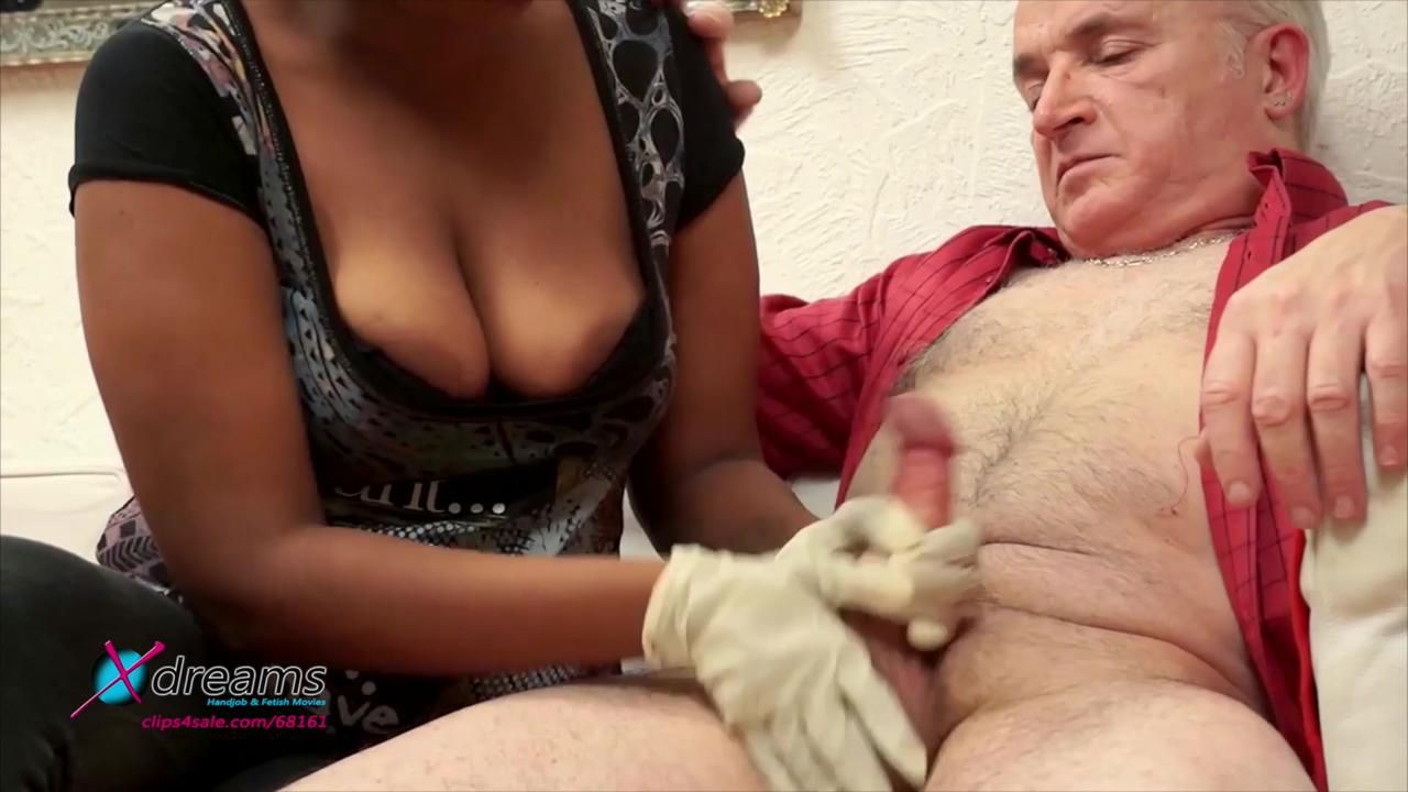 Cocco's Ruined Orgasm Handjob With Latex Gloves