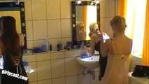 Katharina, Janina & Anna just before the shoot