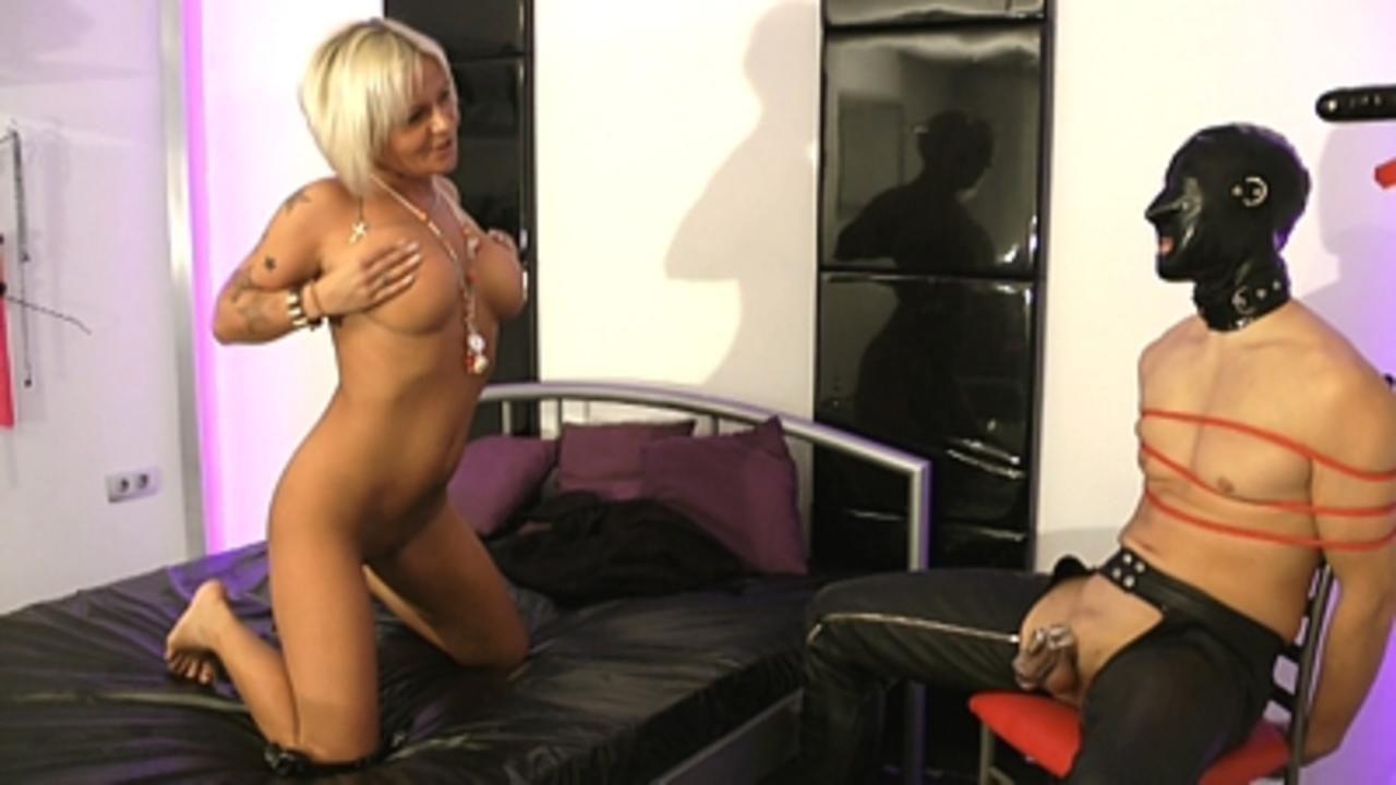 Yazzie Bitch - Ultimate Sadistic Chastity Teasing (Part1)