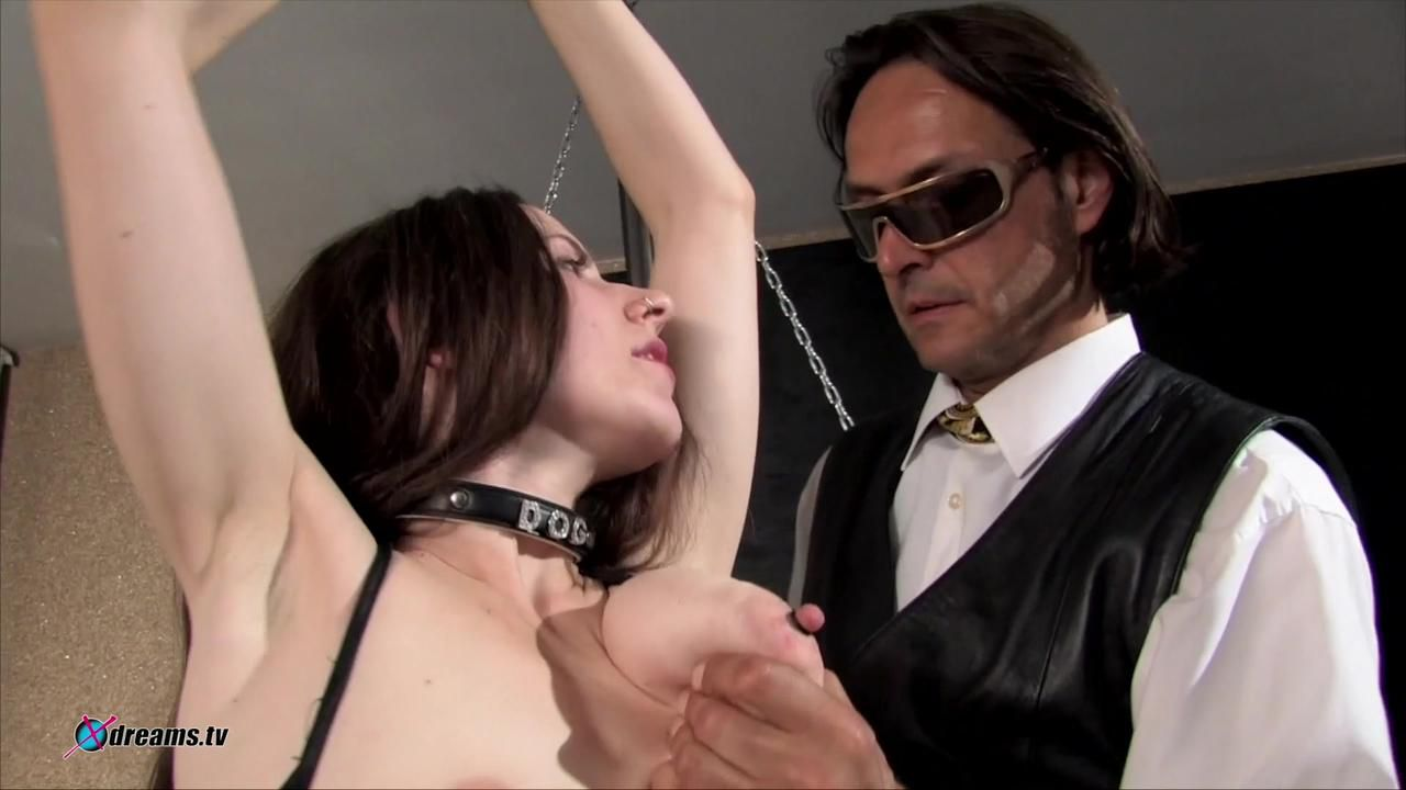 Yasemin Tied, Spanked And Wanked With A Big Dildo