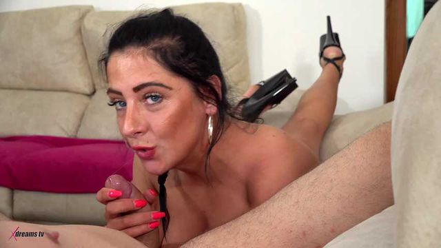 Bella X - Boring TV, So My Girlfriend Want To Play With My Dick